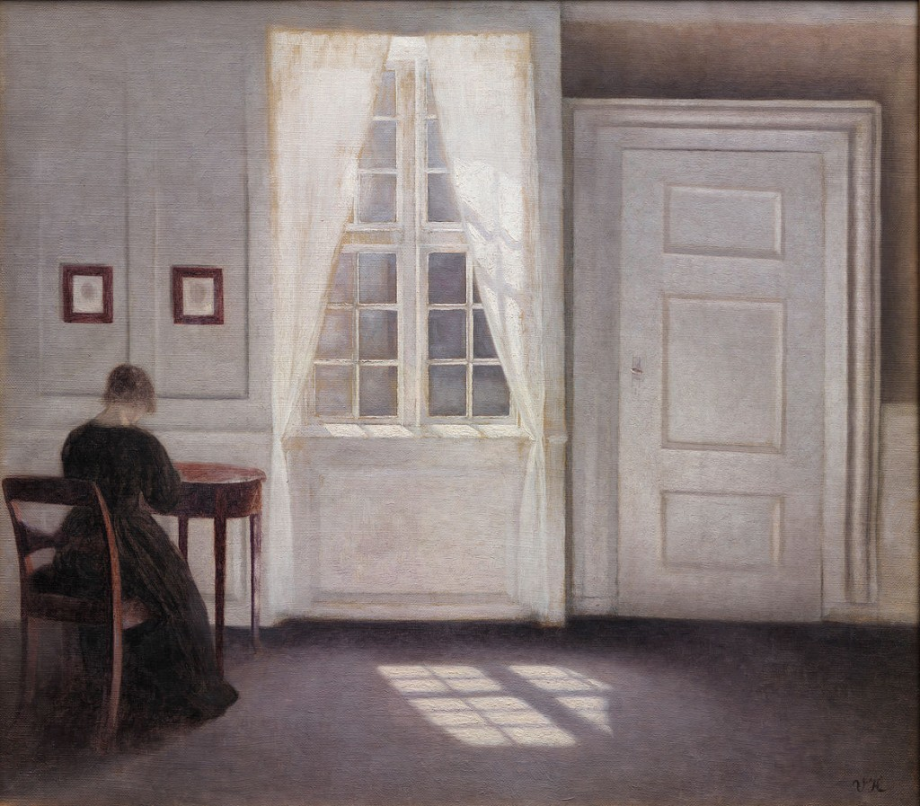 Vilhelm_Hammershøi_-_A_Room_in_the_Artist's_Home_in_Strandgade,_Copenhagen,_with_the_Artist's_Wife_-_Google_Art_Project