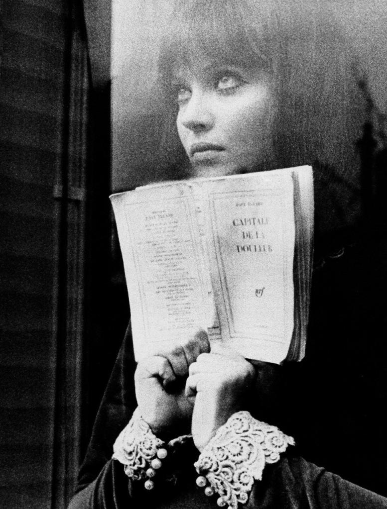 Anna Karina dans Alphaville de Godard